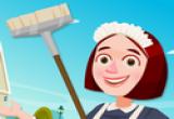 لعبة خادمة البيت النظيفة