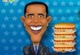 العاب هوت دوج بارك اوباما