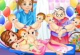 لعبة ولادة صوفيا ستة توائم