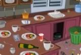 لعبة  تنظيف مطبخ باربي