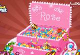 لعبة تحضير الكيكة بالمجوهرات