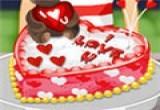 العاب طبخ كيكة عيد الحب