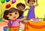 لعبة احتفال دورا بعيد ميلادها