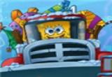 العاب سبونج بوب و سيارة الملاهي