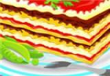 لعبة طبخ مكرونة اللازانيا