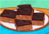 العاب طبخ قطع الكيك بالشوكولاتة