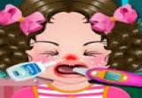 العاب علاج الطفلة من الفلونزا