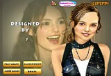 Keira Knightley Makeover game