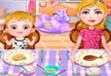 العاب طبخ الغداء للاطفال