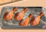 العاب طبخ افخاد الدجاج المحمرة