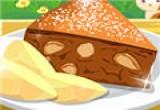 لعبة طبخ الكيك الاسفنجي بالتفاح