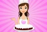 العاب طبخ الكعكة المخملية بالكريمة