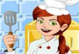 لعبة تحضير الوجبات مع الطباخة المحترفة
