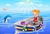 العاب بيبي هازل في البحر