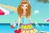 لعبة تلبيس بنات على الشاطىء 2014