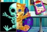 العاب اسعاف القط توم الزنجبيل