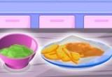 العاب طبخ كفتة السمك مع البطاطا