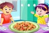 العاب طبخ العشاء للاطفال 2