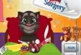 العاب  عملية جراحية لقدم توم