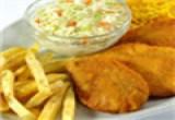 العاب طبخ دجاج بانيه مع البطاط