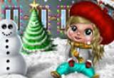 العاب تلبيس طفل الثلج