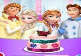 لعبة طبخ كعكة زفاف اسرة فروزن