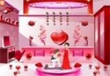 لعبة الترتيب لعيد الحب