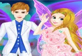 لعبة تلبيس فساتين زفاف حقيقية