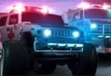 مغامرات اندفاع سيارة الاسعاف