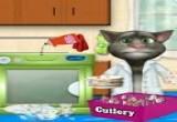 العاب القط توم المتحدث و غسل الصحون