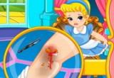 العاب طبيب الطفلة سندريلا