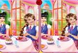 العاب الاختلافات في صور عشاء باربي