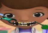 العاب mcstuffins عند طبيب الاسنان