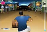 لعبة مهارات الرياضي في الشارع