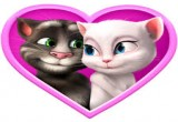 العاب قبلات توم وانجيلا