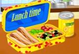 العاب طبخ الوجبة المدرسية