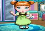 لعبة ديكور غرفة الطفلة آنا