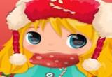 لعبة طفلة حول القطب الشمالي
