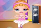 العاب الطفلة باربي و رقص البالية
