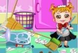 العاب تنظيف غرفة بيبي هازل