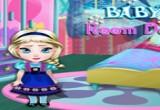لعبة ديكور غرفة الطفلة السا