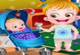 لعبة بيبي هازل ومفاجأة اخوها الصغير