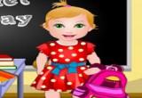لعبة الطفلة جوليت في المدرسة