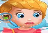 العاب الطفلة ليزي عند طبيب الاذن
