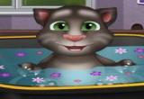 العاب استحمام القط الناطق توم