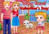 لعبة الطفلة هازل في عيد الحب