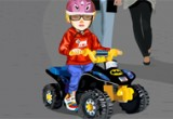 العاب سباق دراجات الاطفال