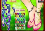 Beautiful Foot Manicure games