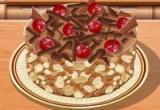 العاب طبخ كيك الشوكولاتة بالمكسرات