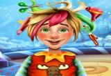 لعبة حلاقة شعر العفريت
